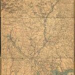 Louisiana Old Map