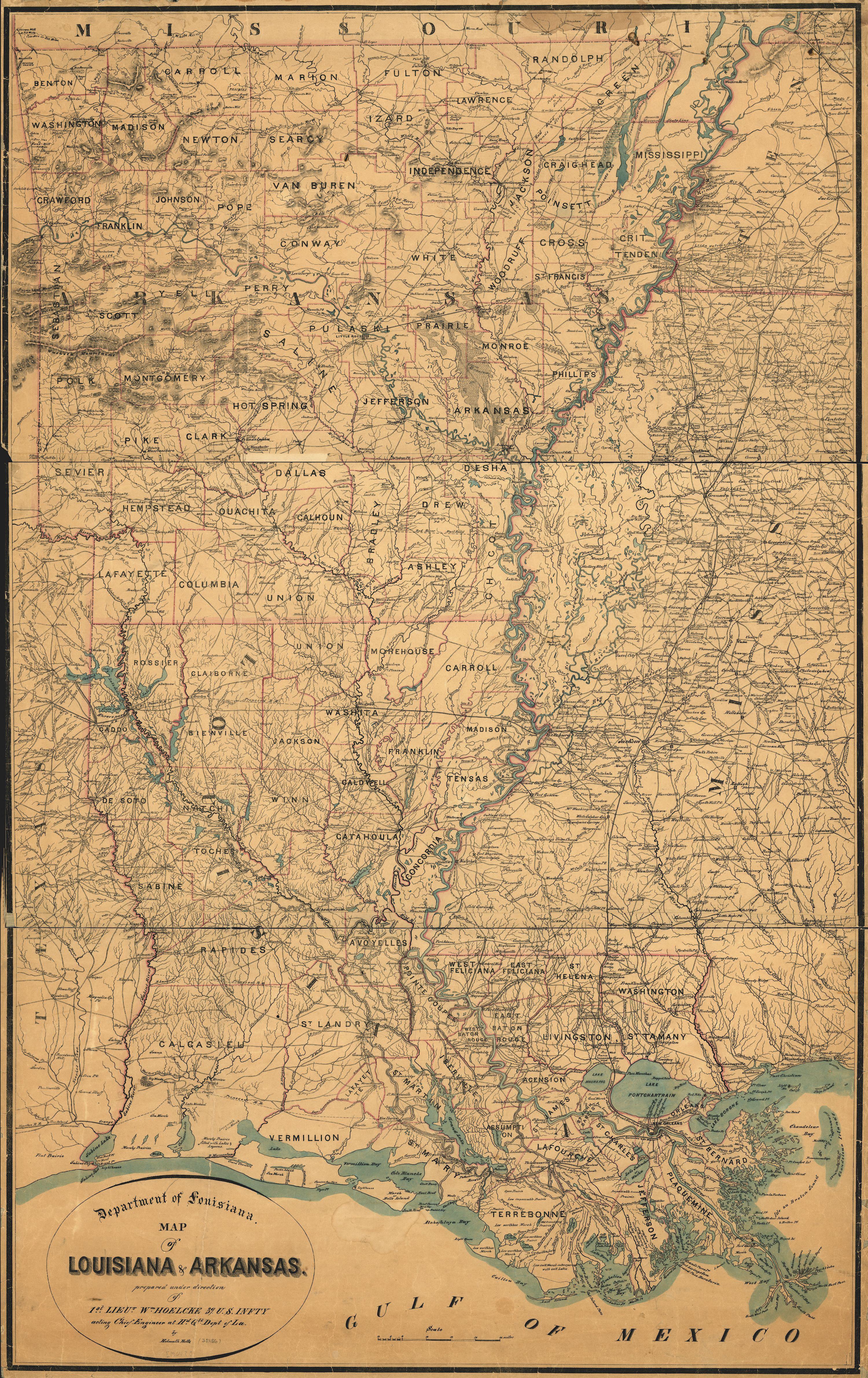 About Louisiana My Hammond My Ponchatoula - Historic maps louisiana